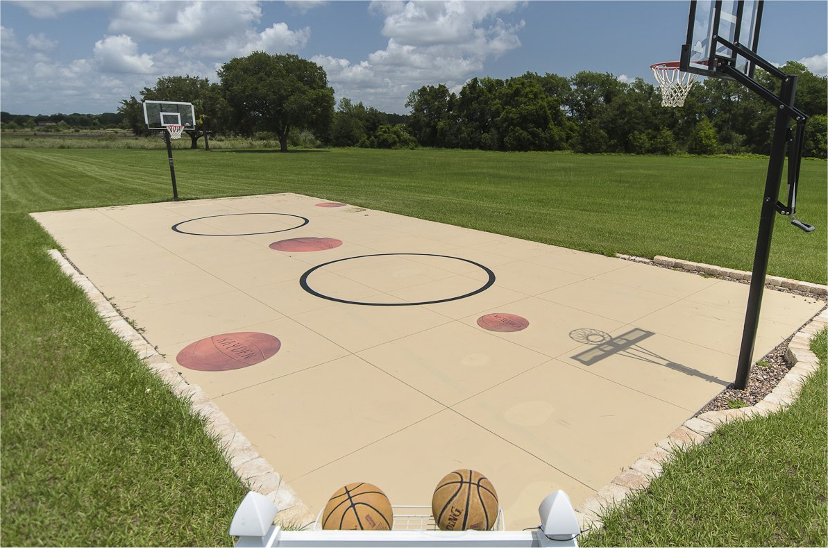 The Ever After Estate Vacation Home Near Orlando Florida Basketball Amp 3 Way Volleyball Courts