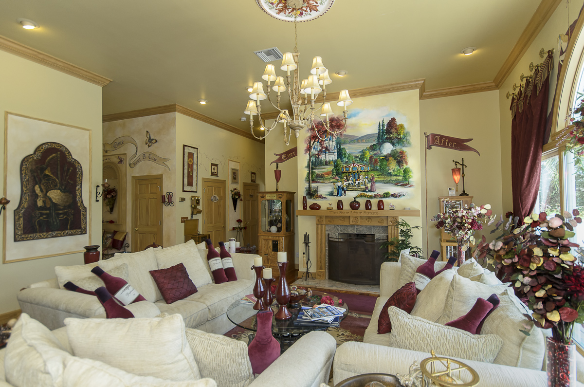 A Family Living Room at The Ever After Estate