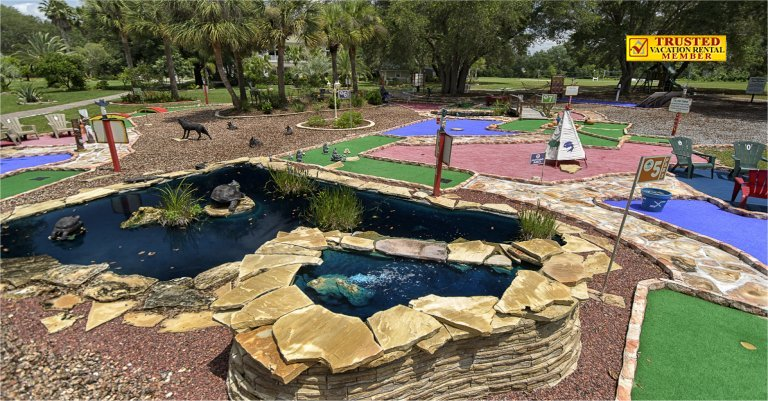 Miniature Golf Course At The Ever After Estate Near Disney