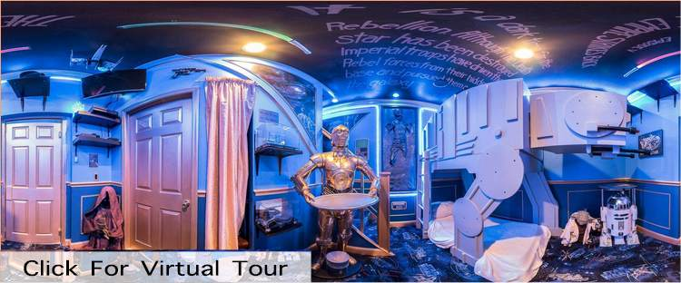 Star Wars Bedroom at The Ever After Estate - Disney Area Vacation Home
