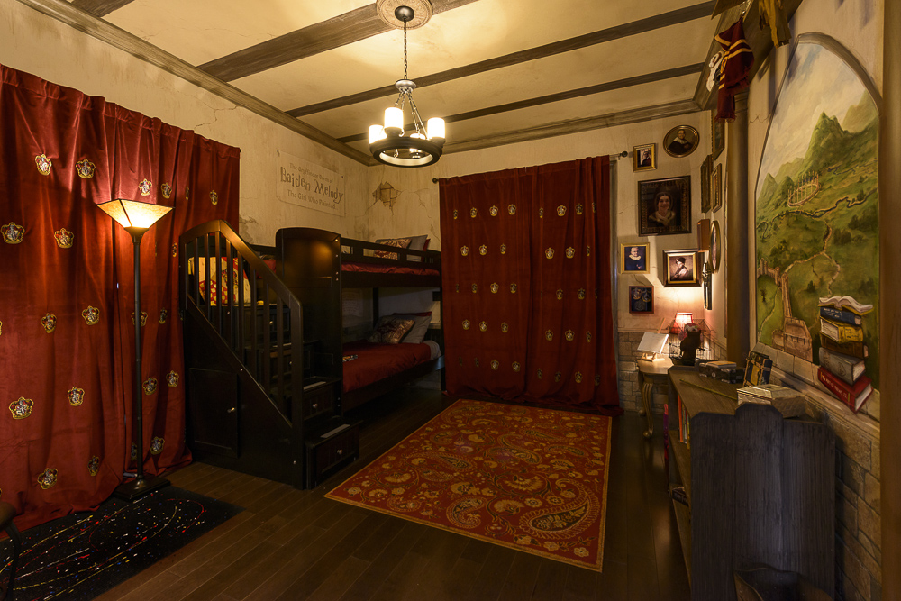 The Ever After Estate Orlando Vacation Home Harry Potter Bedroom